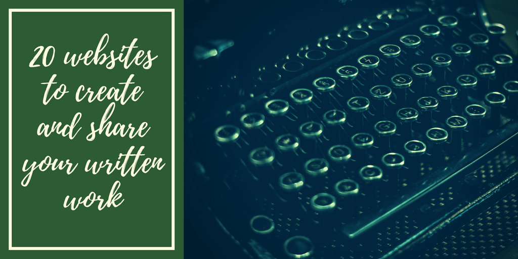 20 Sites to Write For