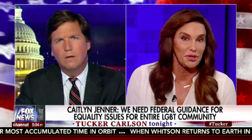 """Trump Has """"Kind Of Disappointed"""" Caitlyn Jenner"""