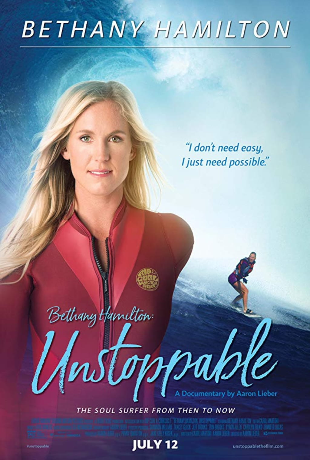 Movie Review: 'Bethany Hamilton: Unstoppable' A Portrait of Determination and Faith