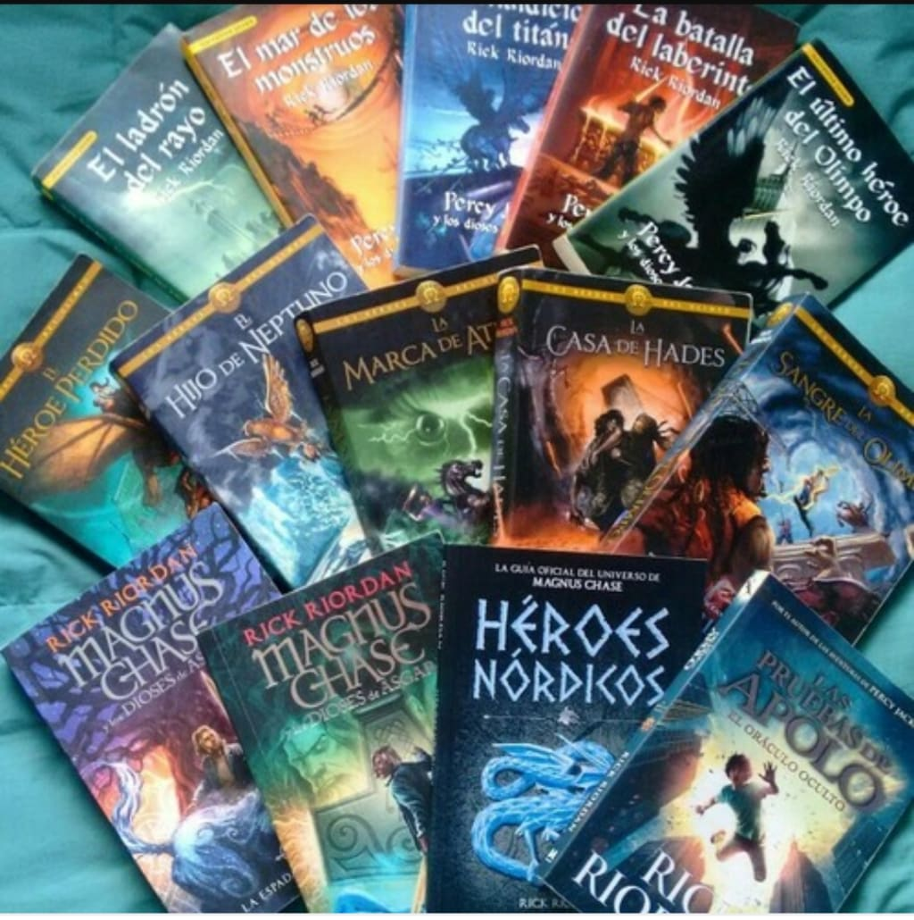 Why You Should Read Rick Riordan's Books Now!