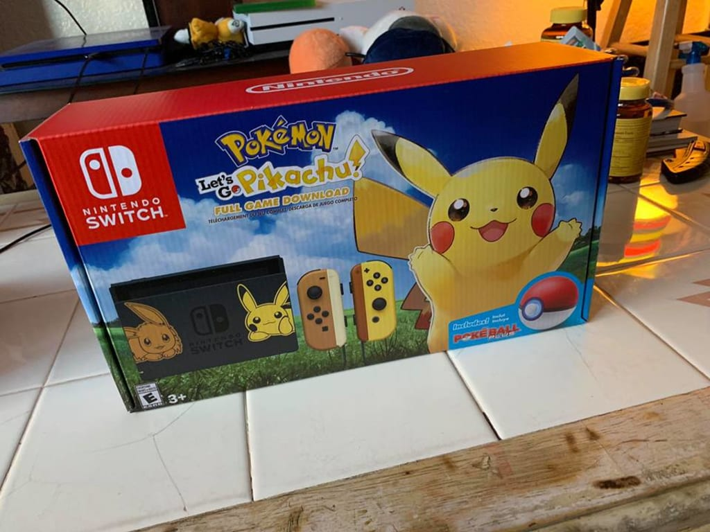 Pokemon Switch!