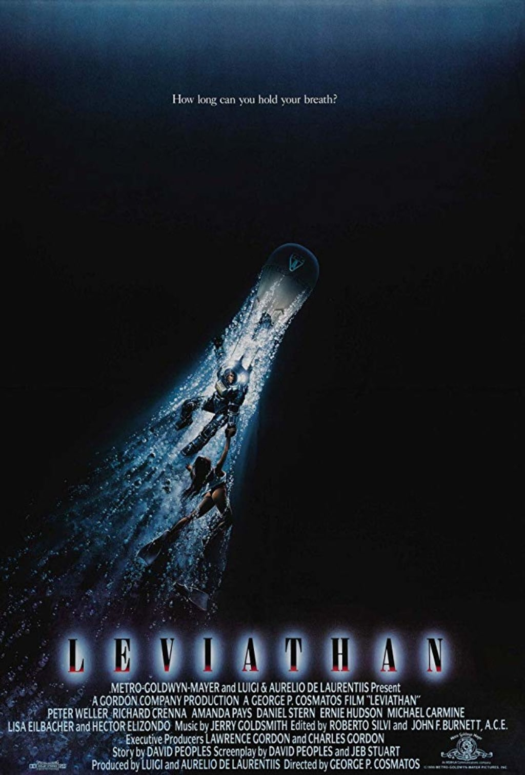 Reed Alexander's Horror Review of 'Leviathan' (1989)