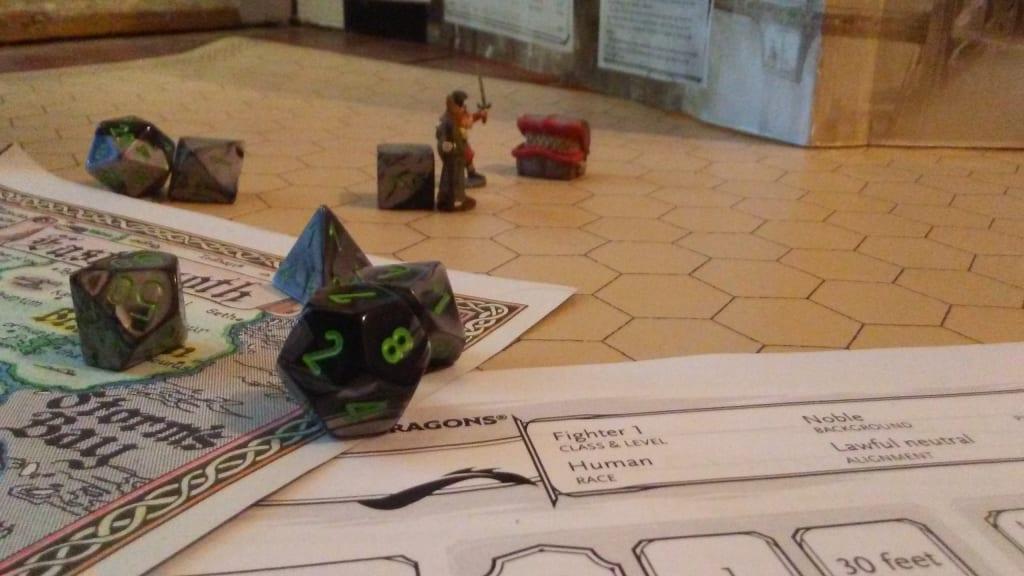 Being a Dungeon Master, Part 1