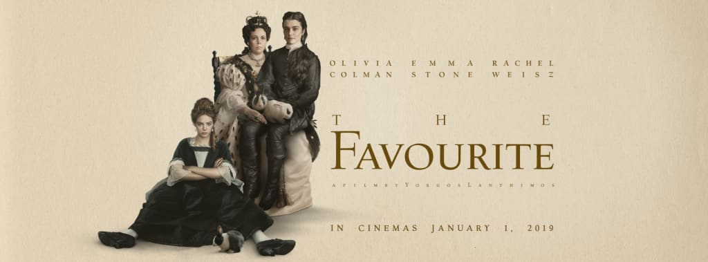 'The Favourite'—A Movie Review