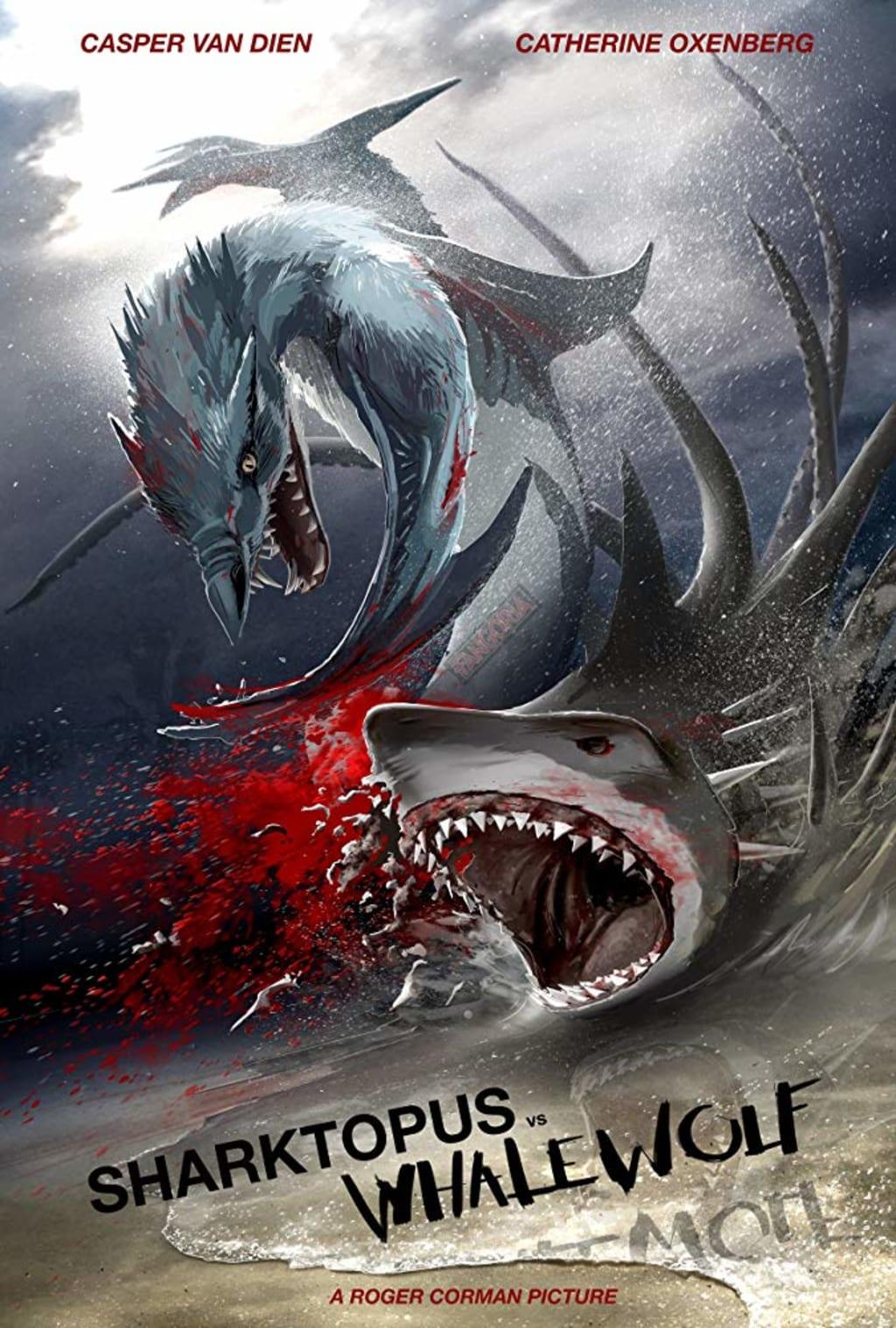 Reed Alexander's Horror Review of 'Sharktopus vs. Whalewolf' (2015)