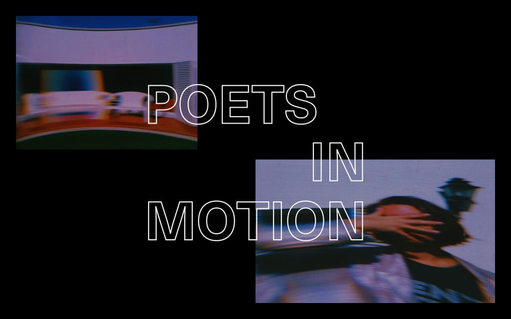 Poets in Motion: National Poetry Month Contest