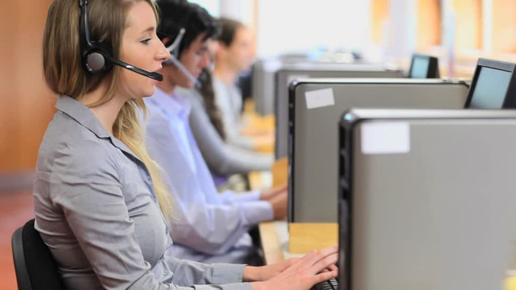 Call Centers, or How I Learned to Stop Caring and Love Pay Cuts