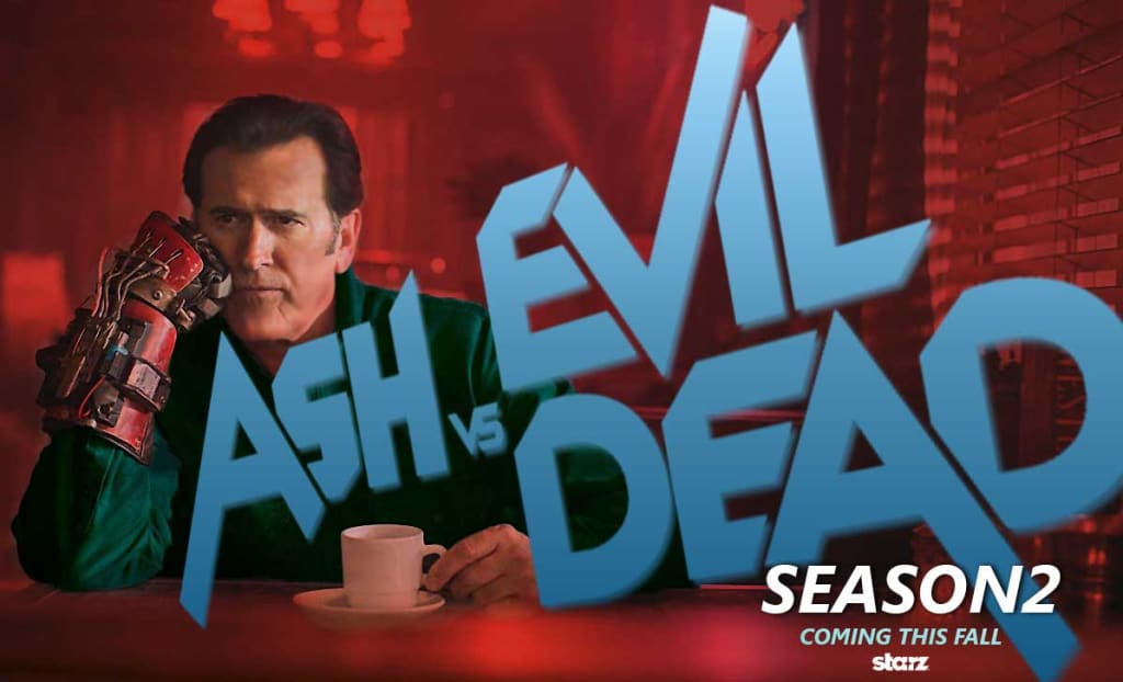 'Ash vs Evil Dead' Season 2 Promises More Comedy and Even More Blood