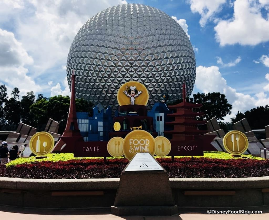 Just Grubbin Series: Walt Disney World Food and Wine Festival 2017