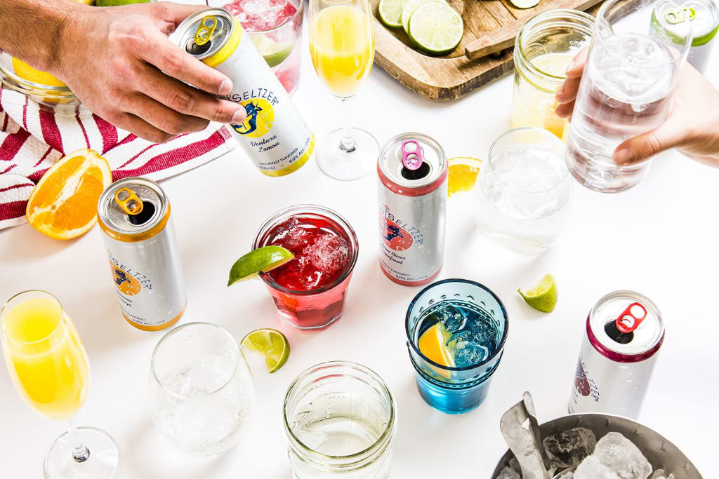 Best Rated Hard Seltzer Brands