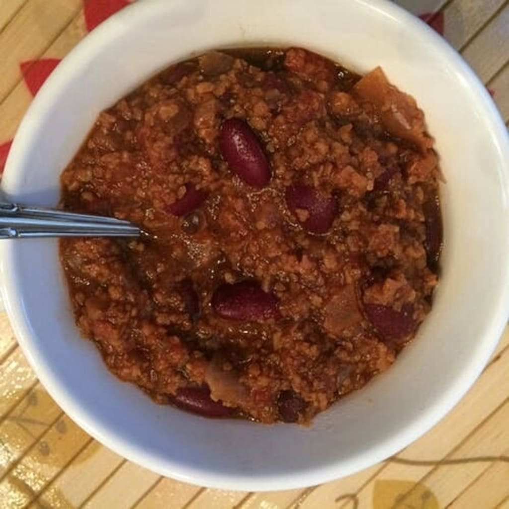 Best Homemade Chili with Red Wine
