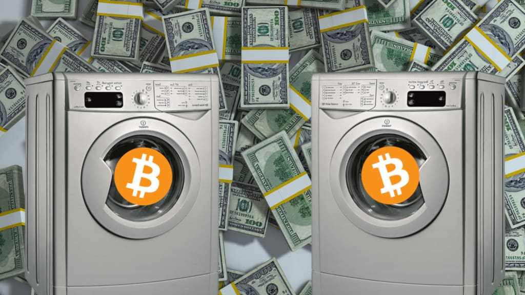 Why Bitcoin Works in Money Laundering