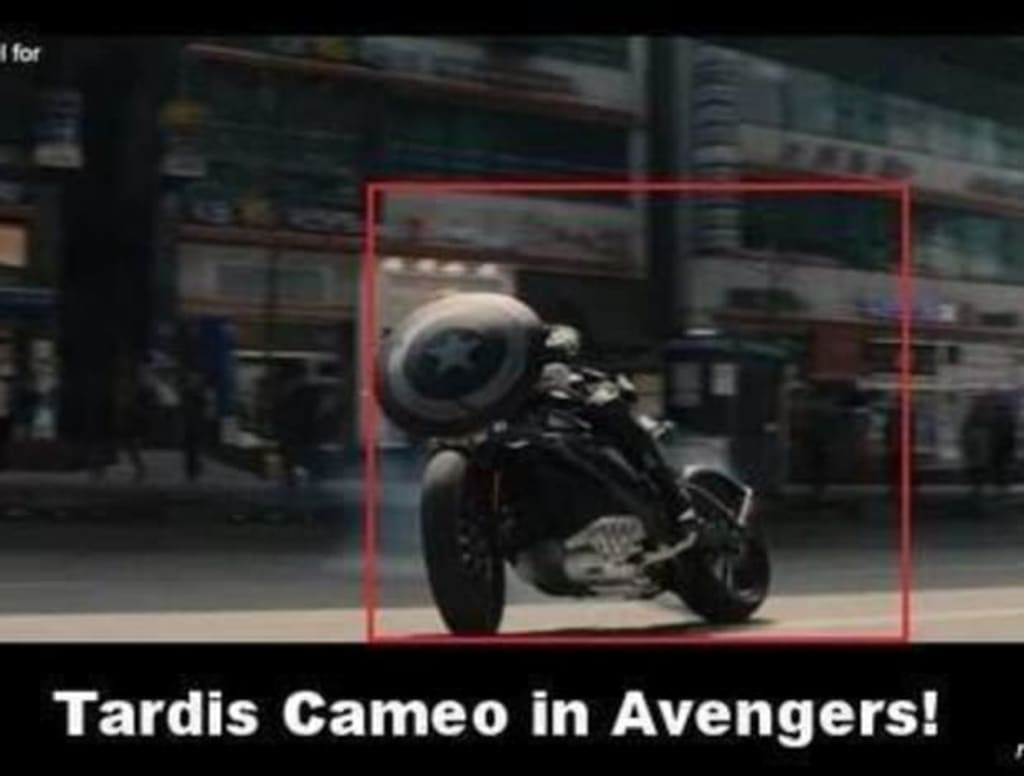 Doctor Who TARDIS Easter Egg Appears in the Avengers: Age of Ultron!