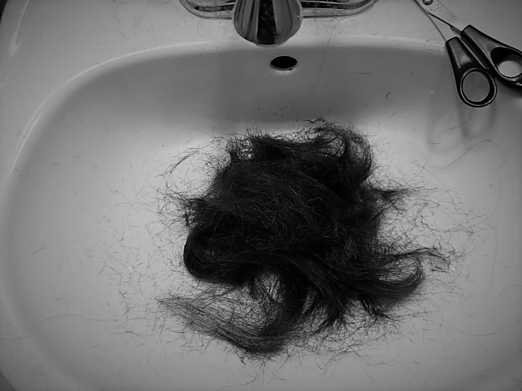 I Cut My Hair Today.
