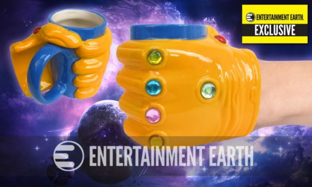 Wield the Power of the Mad Titan Thanos (and Drink Your Coffee) With This Limited Edition Mug!