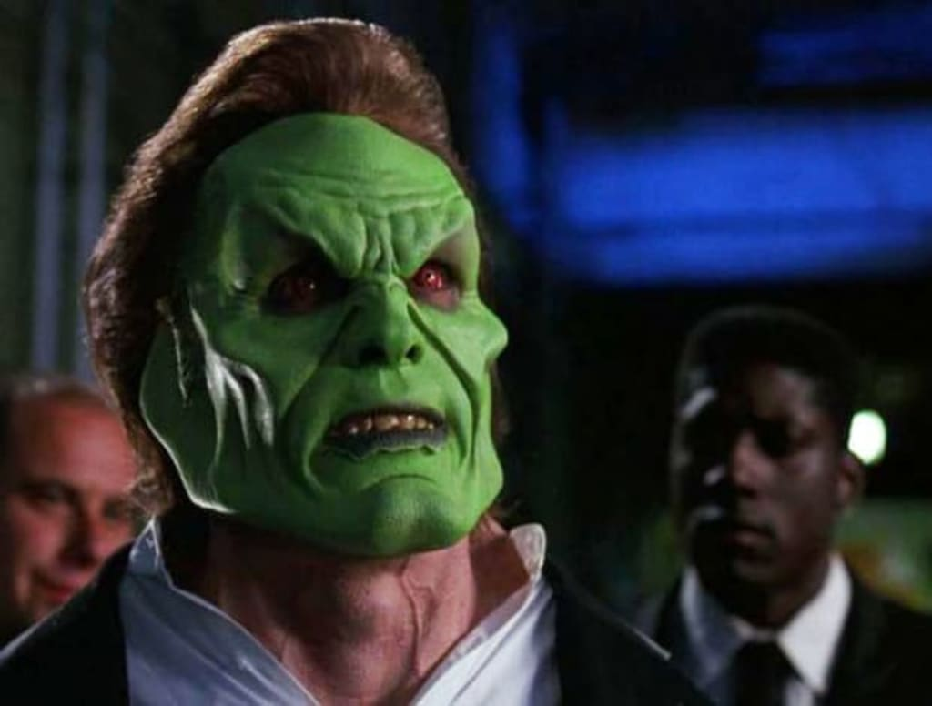 Scary Carrey: Director Reveals Jim Carrey's 'The Mask' Was Meant to Be a Horror