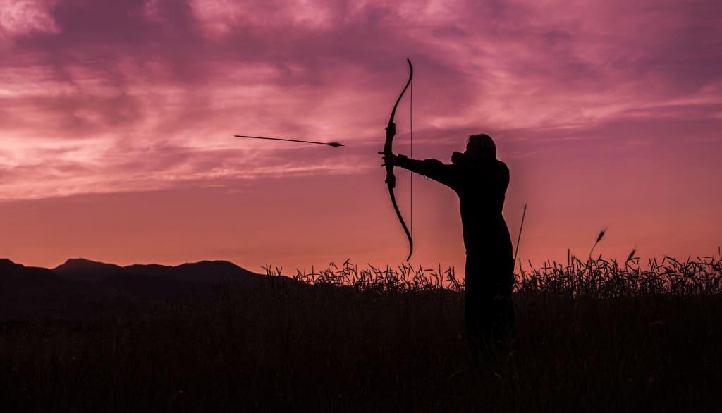 Arrows Sever My Voice