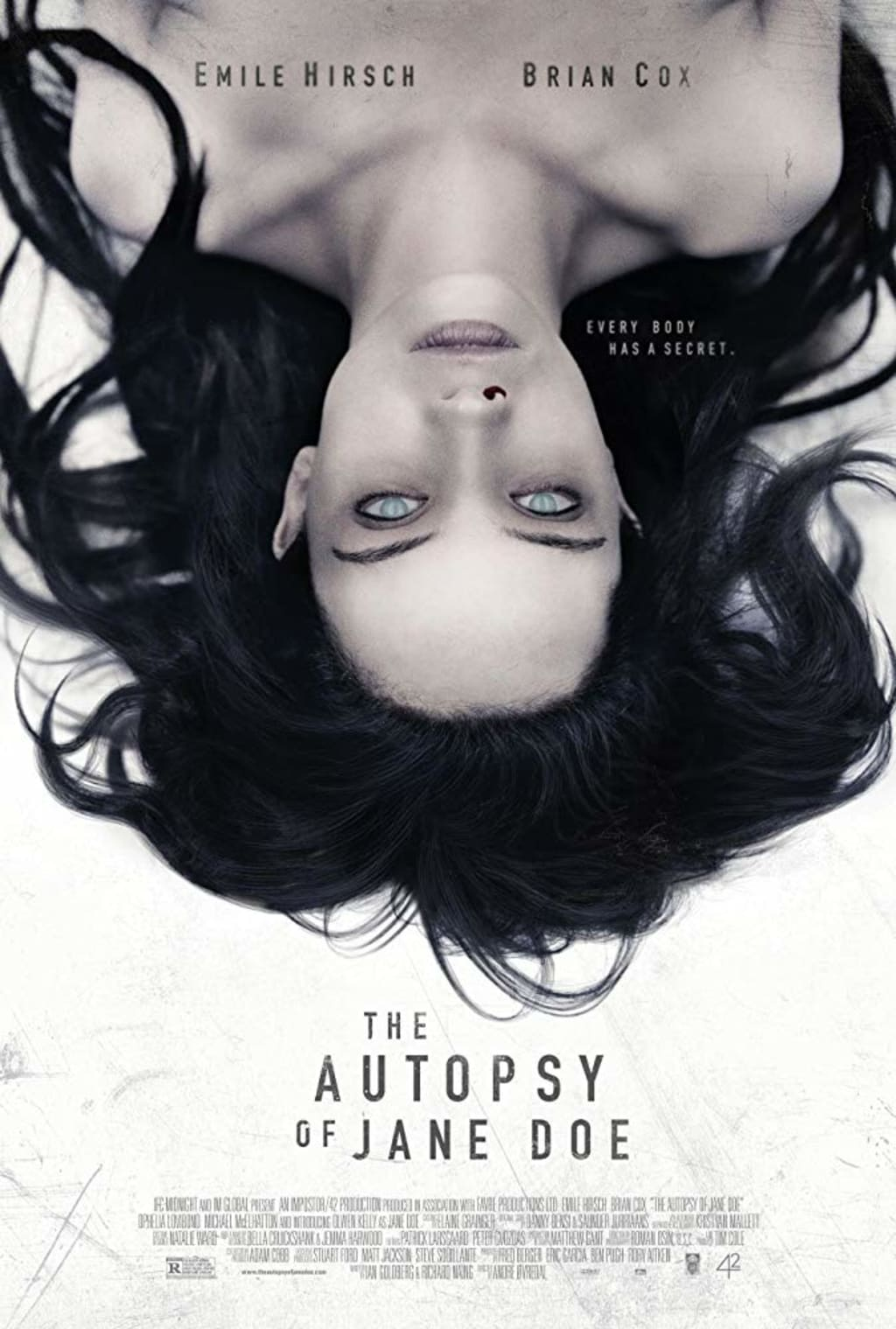 Reed Alexander's Horror Review of 'The Autopsy of Jane Doe' (2016)