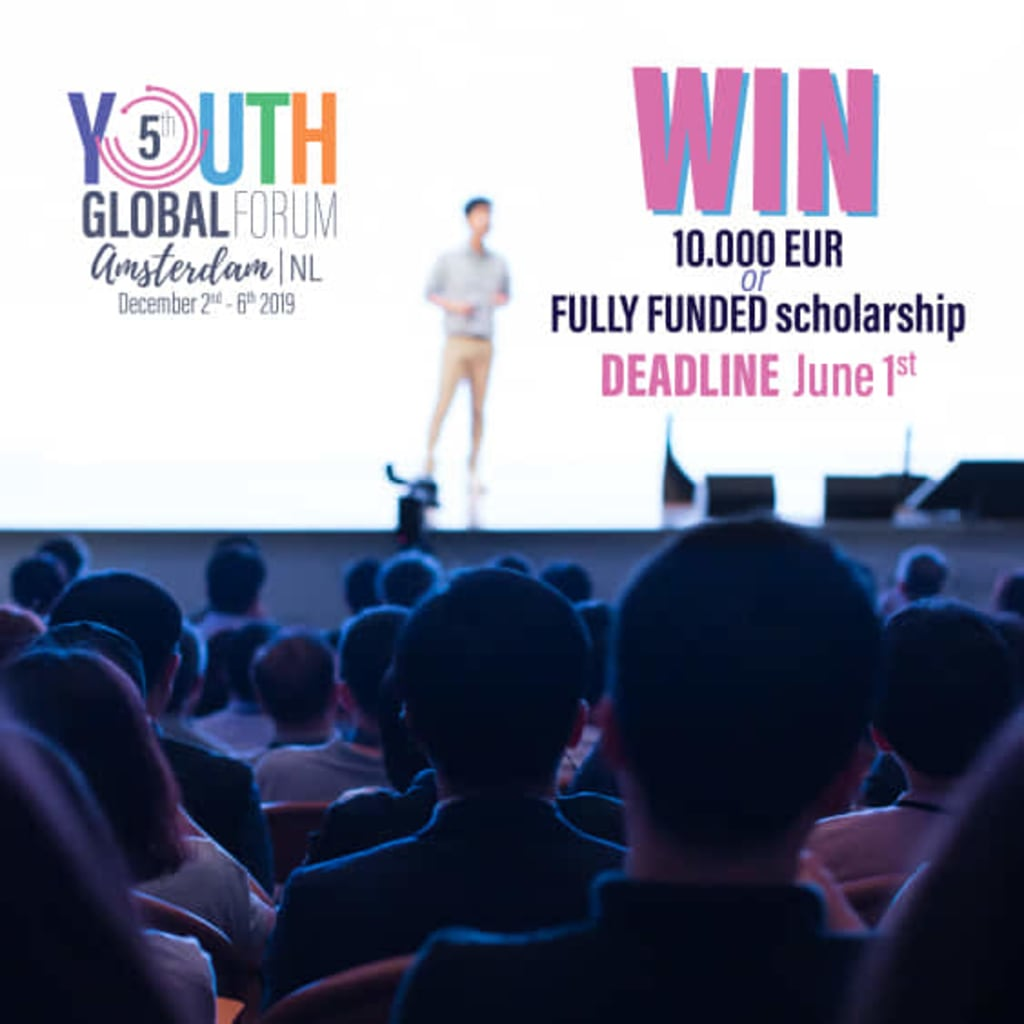 Youth Time: The Youth Global Forum Is a Great Opportunity for Potential Youth Leaders and World-Changers, Don't Miss It