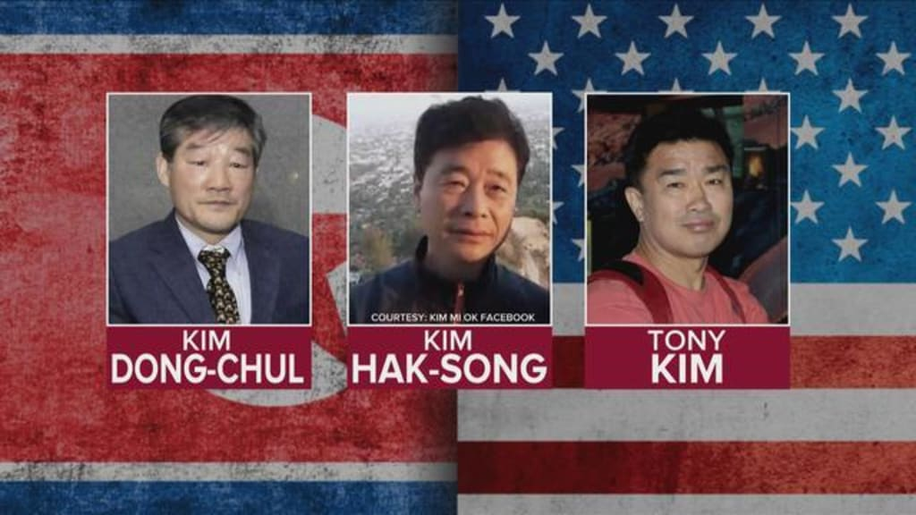 American Detainees in North Korea