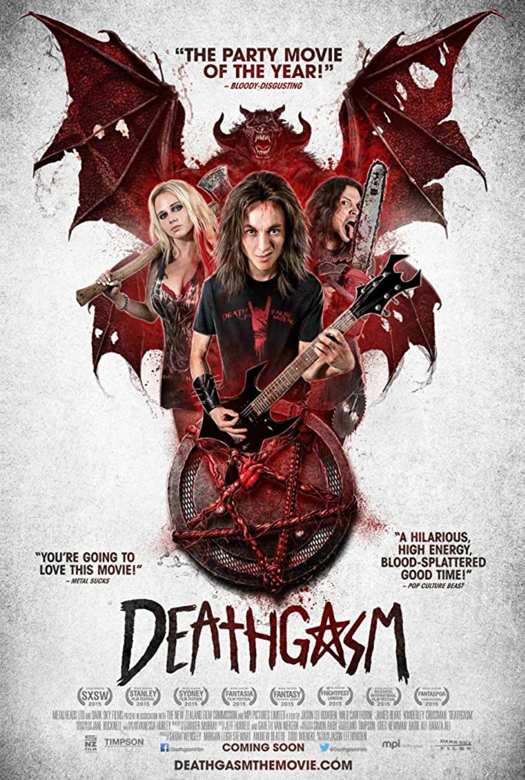 Reed Alexander's Horror Review of 'Deathgasm' (2015)