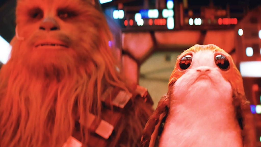 Protect The Porgs! Rian Johnson Defends The Use Of These Cute And Controversial Critters In 'Star Wars: The Last Jedi'
