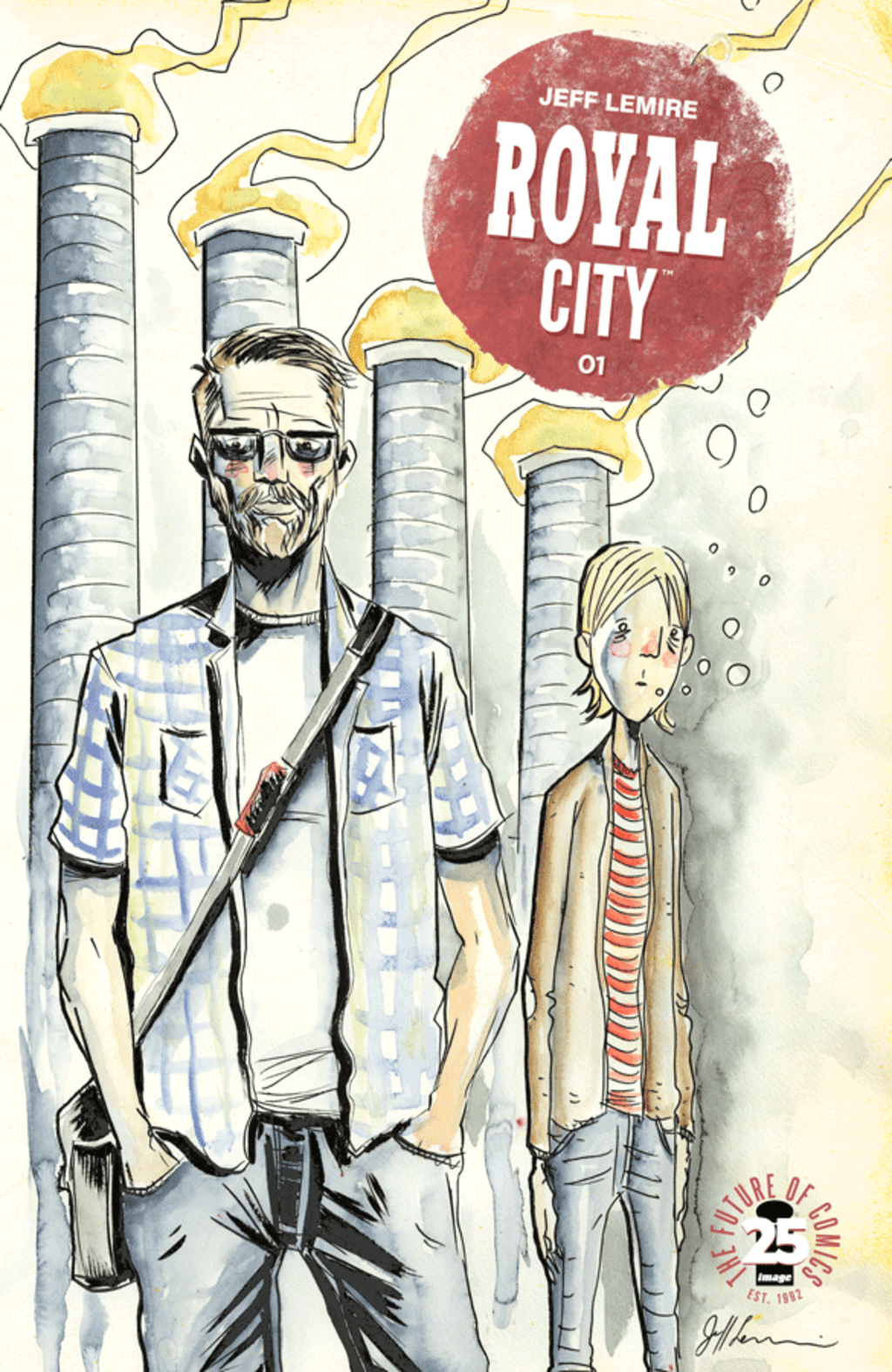 A Haunting Slice of Life by Jeff Lemire