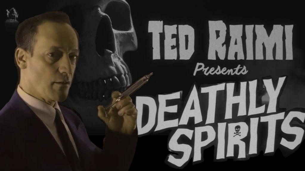 Watch Ted Raimi's Audio Horror Series 'Deathly Spirits' Now on YouTube