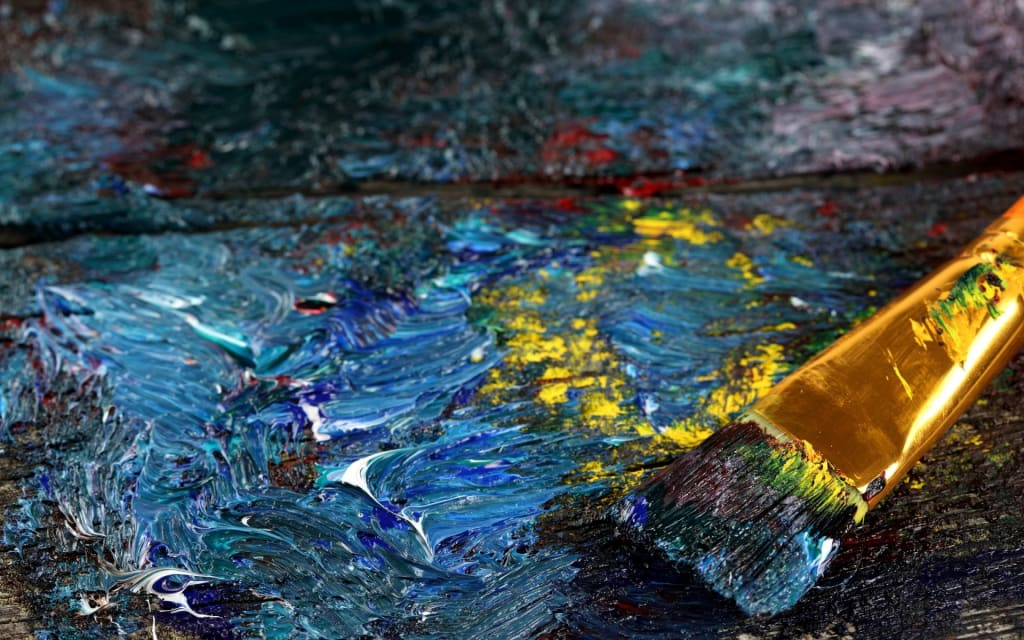 The Painter (Dedicated to Hiram N.)