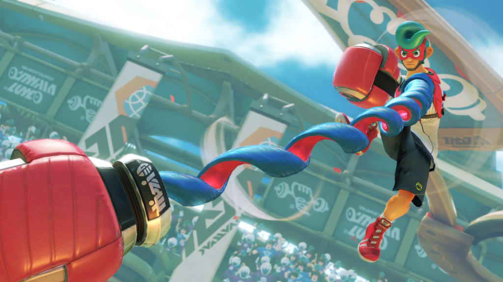 What the Heck Is Arms? And Why Could It Be the Next Super Smash Brothers?