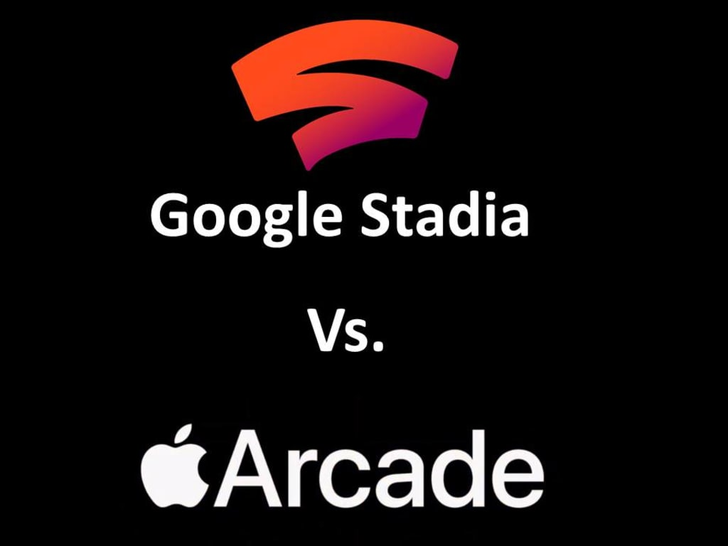 Google Stadia Vs. Apple Arcade