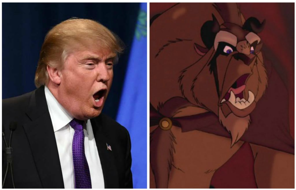 'Beauty And The Beast's' Dan Stevens Spot On With Donald Trump Comparison!