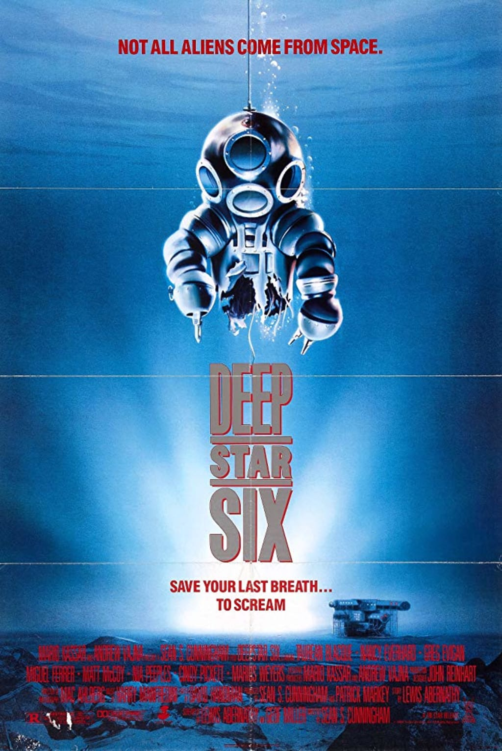 Reed Alexander's Horror Review of 'Deep Star Six' (1989)