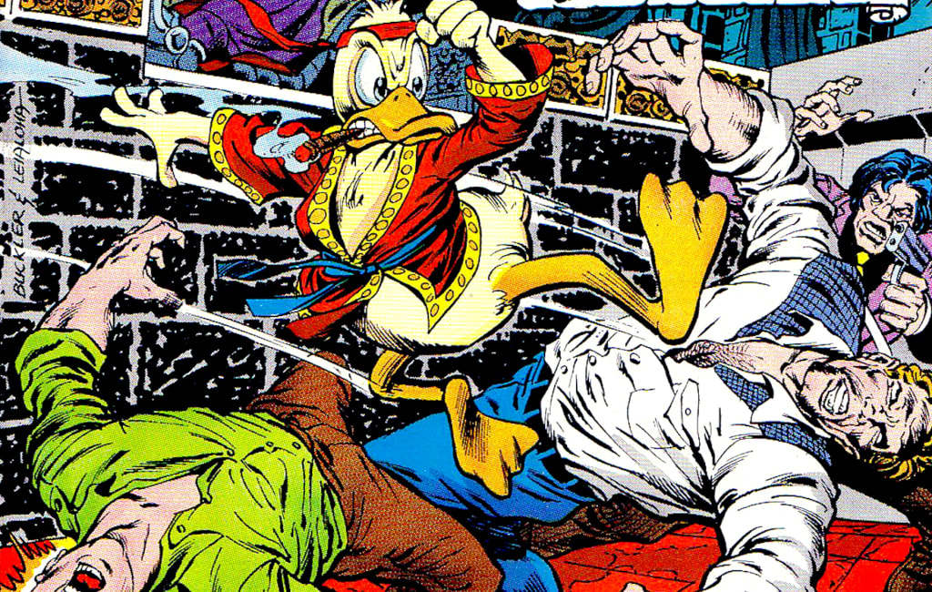 Master of Quack Fu: Remembering 1970s Martial Arts Mania & Count Dante with 'Howard the Duck #3'