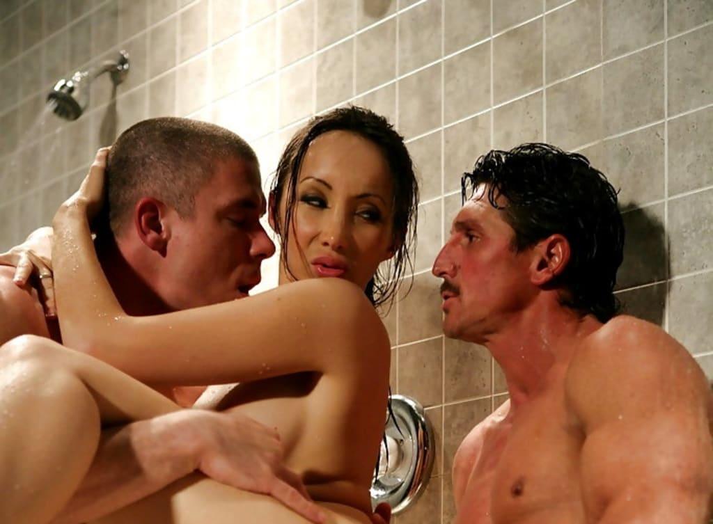 Martial Arts Star's Naughty Shower