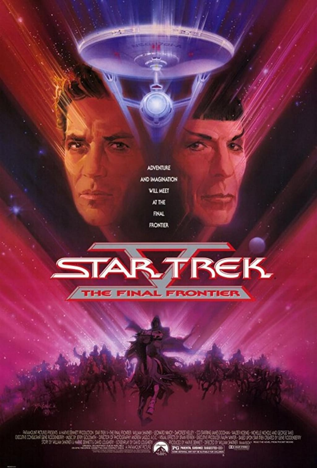 'Star Trek V' Is Pretty Hard to Defend, But I'm Going to Try Anyway