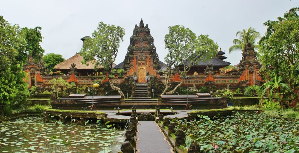 The Temples of Ubud