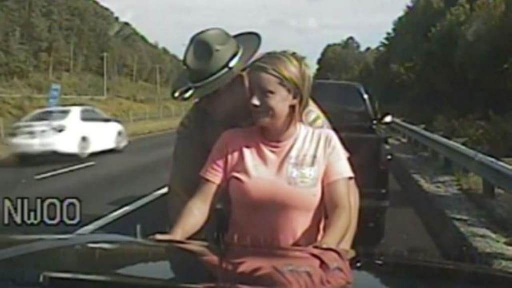 Trooper Isaiah Lloyd, What Was Your Intention When Searching Ms. Wilson?