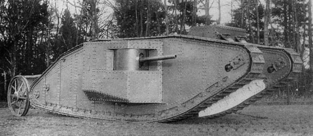 In Defence of the Tank #2: WW1 Part 1 - The Dawn of the Tank.