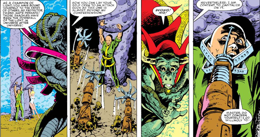 Urthona and Rintrah: The Last Days of Dr. Strange, Vol. 2