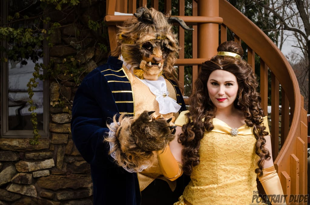 Cosplayers Pull Off Amazing 'Beauty and the Beast' Shoot On a Budget