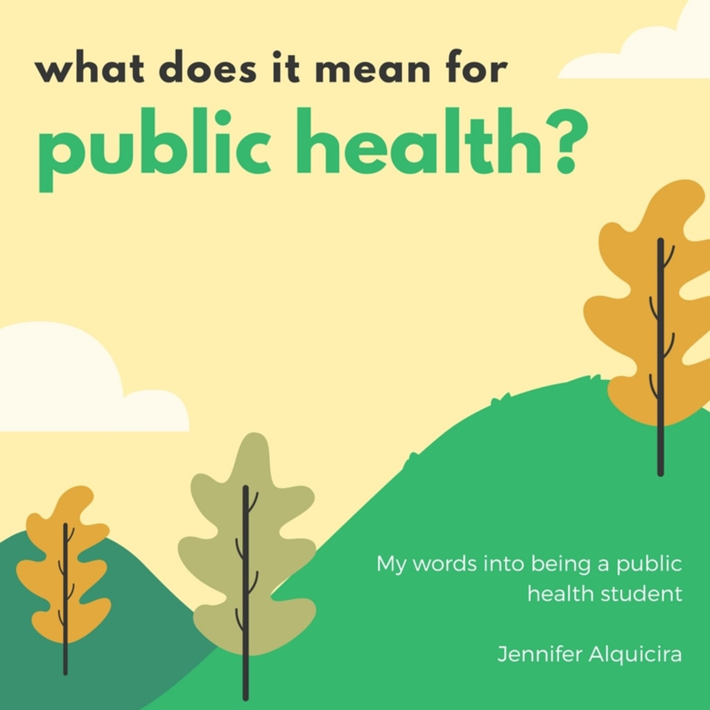 What Does It Mean for Public Health?