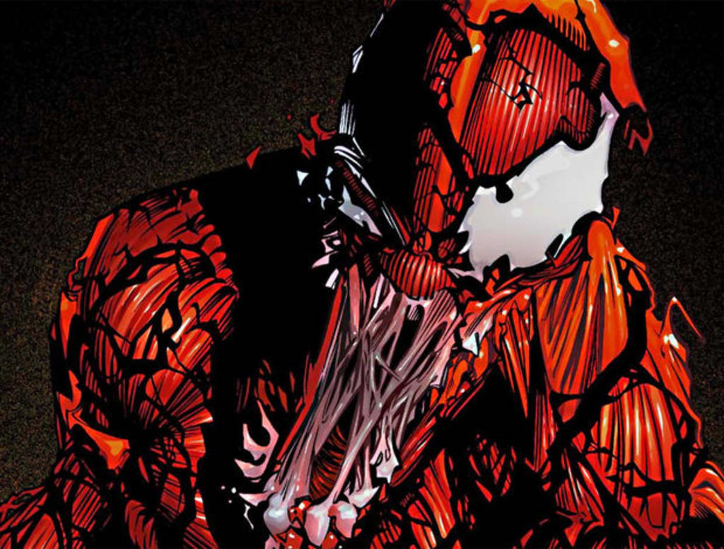 What's Red And Black And Kills All Over? Carnage Is Officially Coming To Sony's 'Venom' Solo Movie