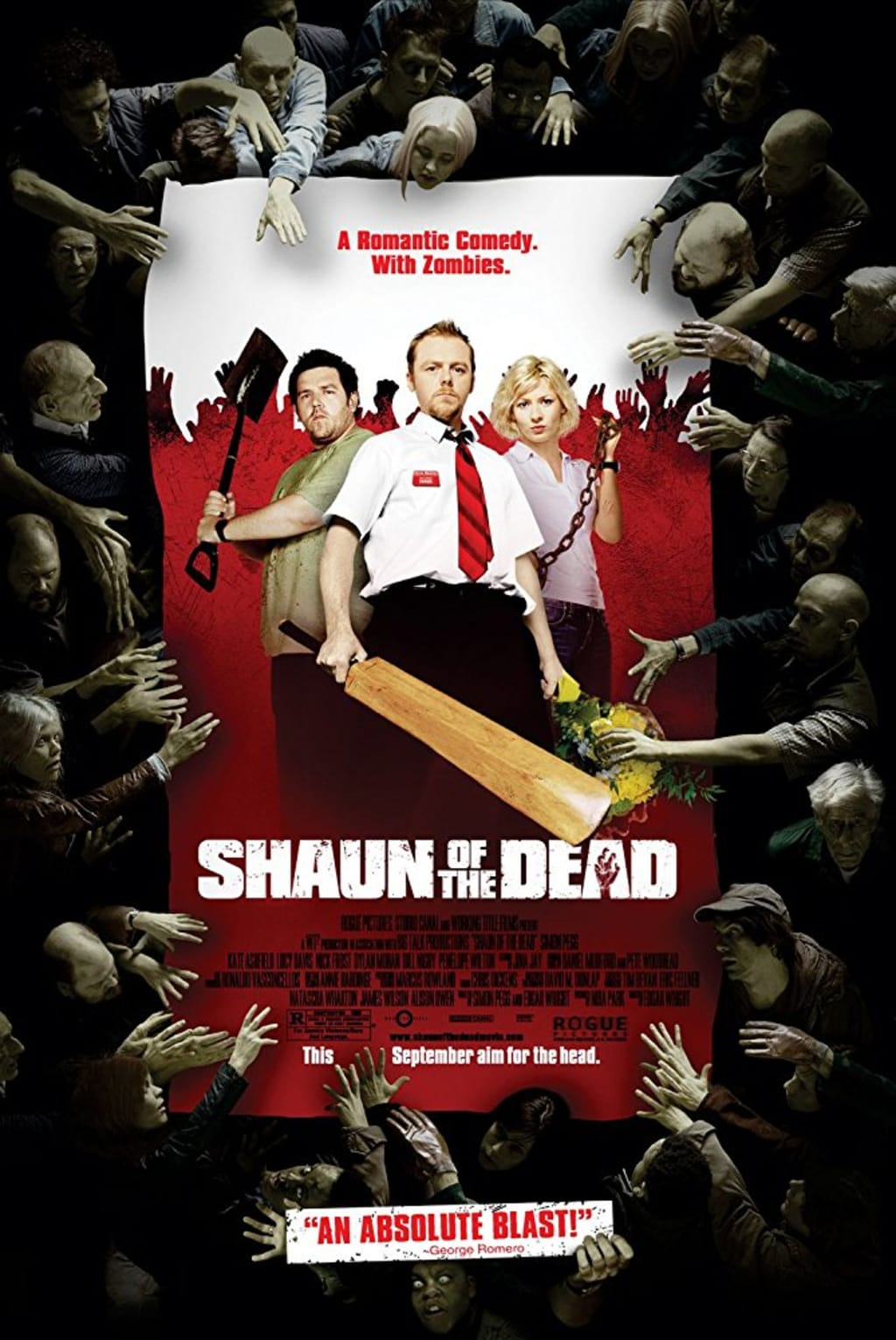 Reed Alexander's Horror Review Compares 'Shaun of the Dead'(2004) and 'Zombieland' (2009)