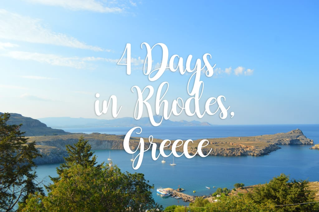 Four Days in Rhodes, Greece: What We Saw In Our Struggling Hire Car