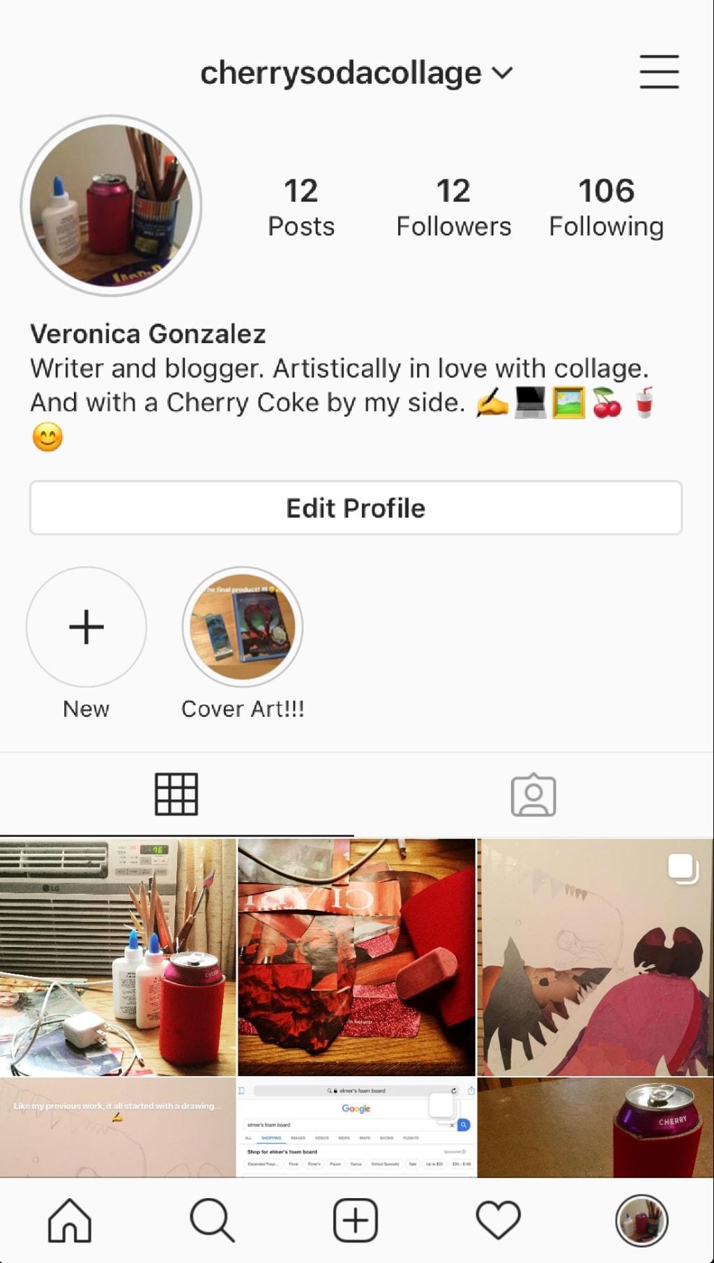 Writer/Blogger Turns to Instagram!