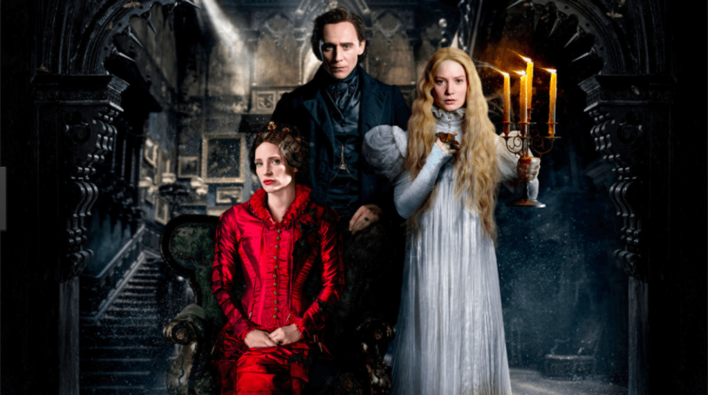 'Crimson Peak' Is an Odd Artistic Film with a Few Ghosts Sprinkled In. You Have a Better Chance of Getting More Horror out of 'Goosebumps.'
