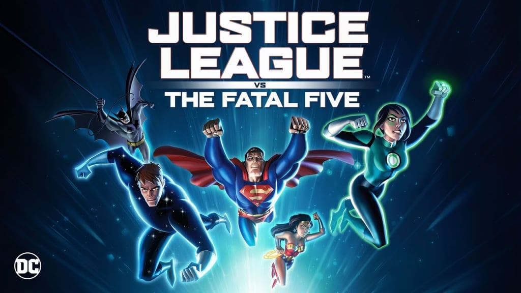 They're Back! The Justice League Returns in New Animated Film, 'Justice League vs. Fatal Five!'