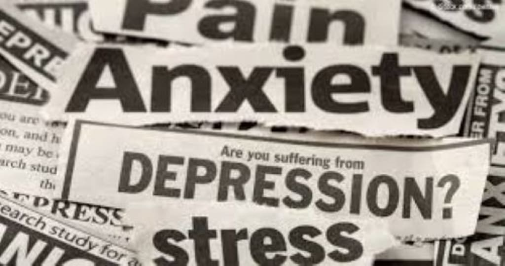 Suffering from Depression and Anxiety