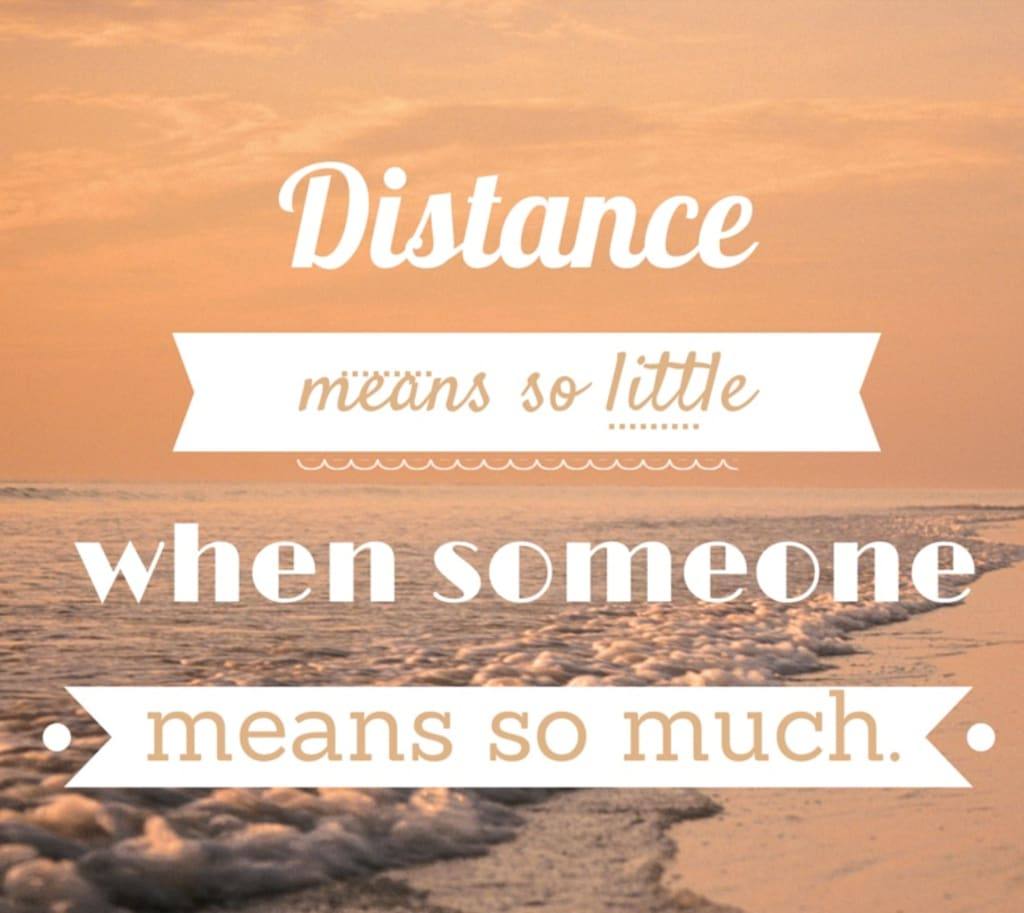 How I Ended Up in a Long Distance Relationship
